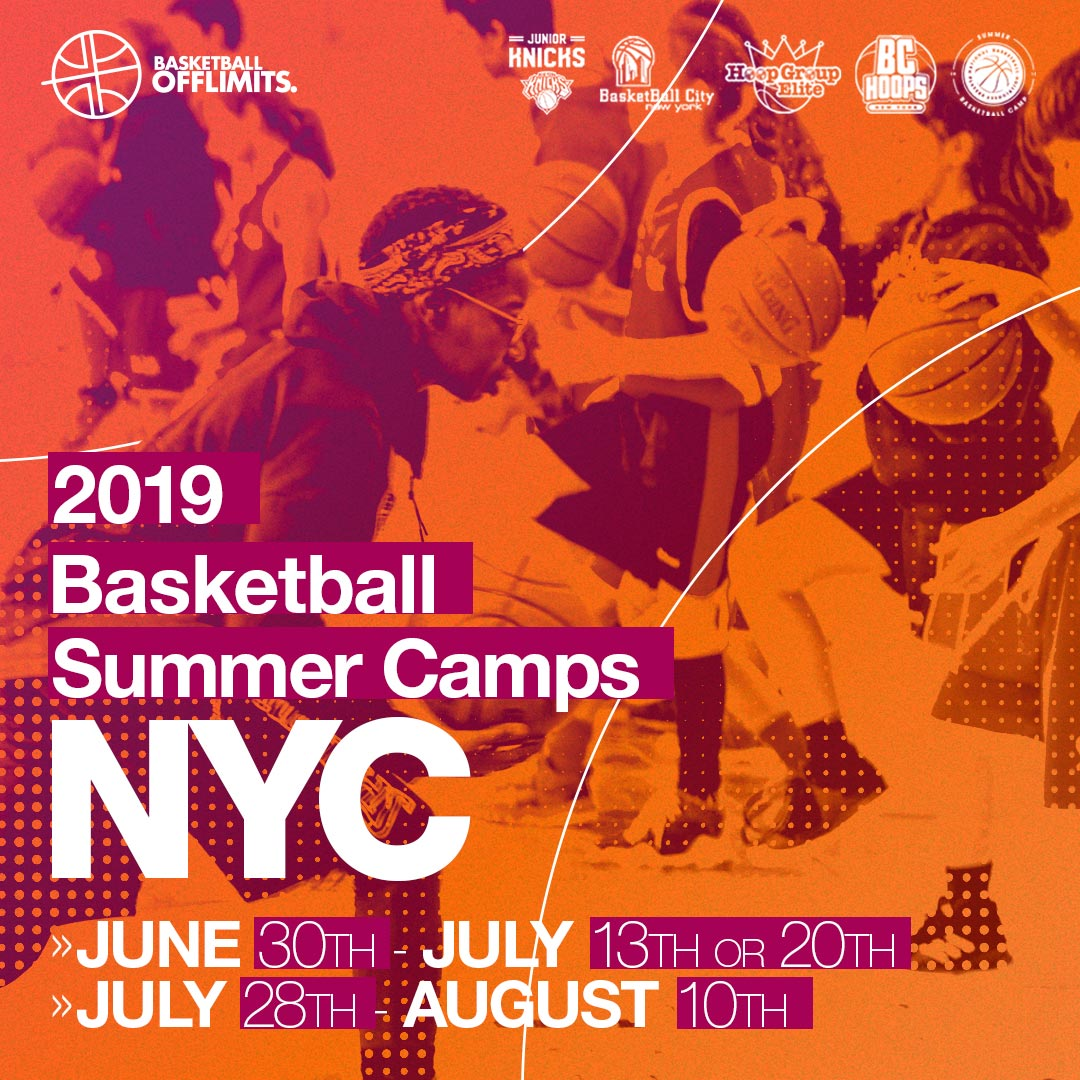 Basketball Summer Campus New York - 3 weeks - 30 June to 20 July