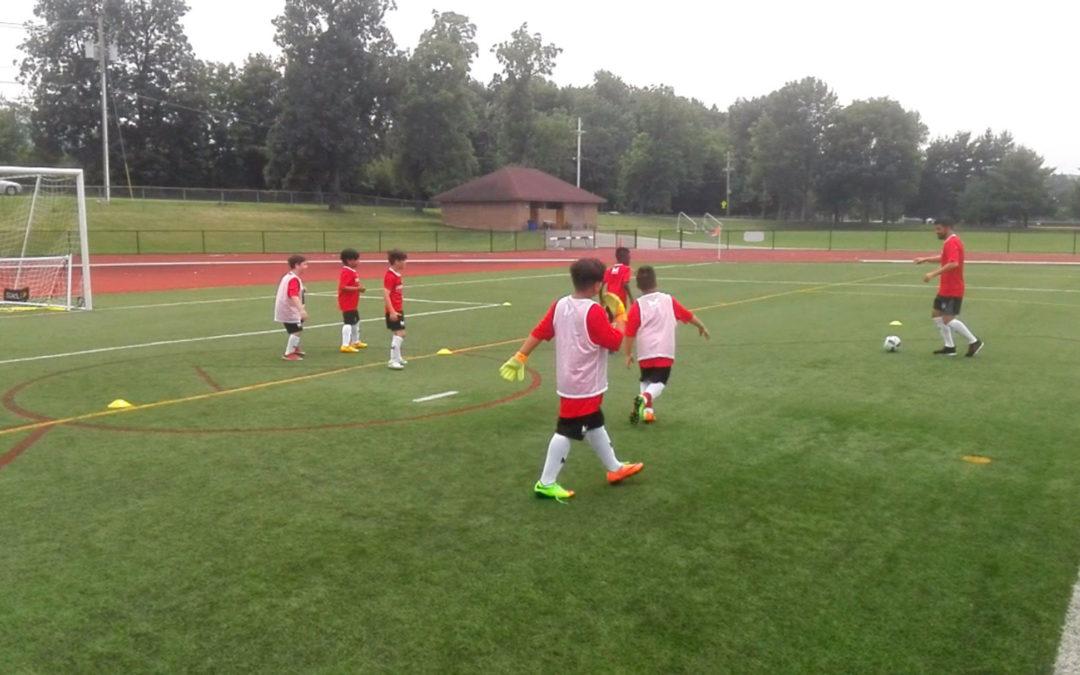 David Villa Visits Our Offlimits Soccer Camp!