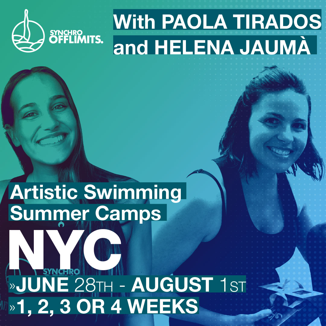 Artistic Swimming New York – DAY CAMP – 2 Weeks