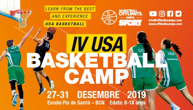 Christmas Basketball Camp In Barcelona – FULL BOARD