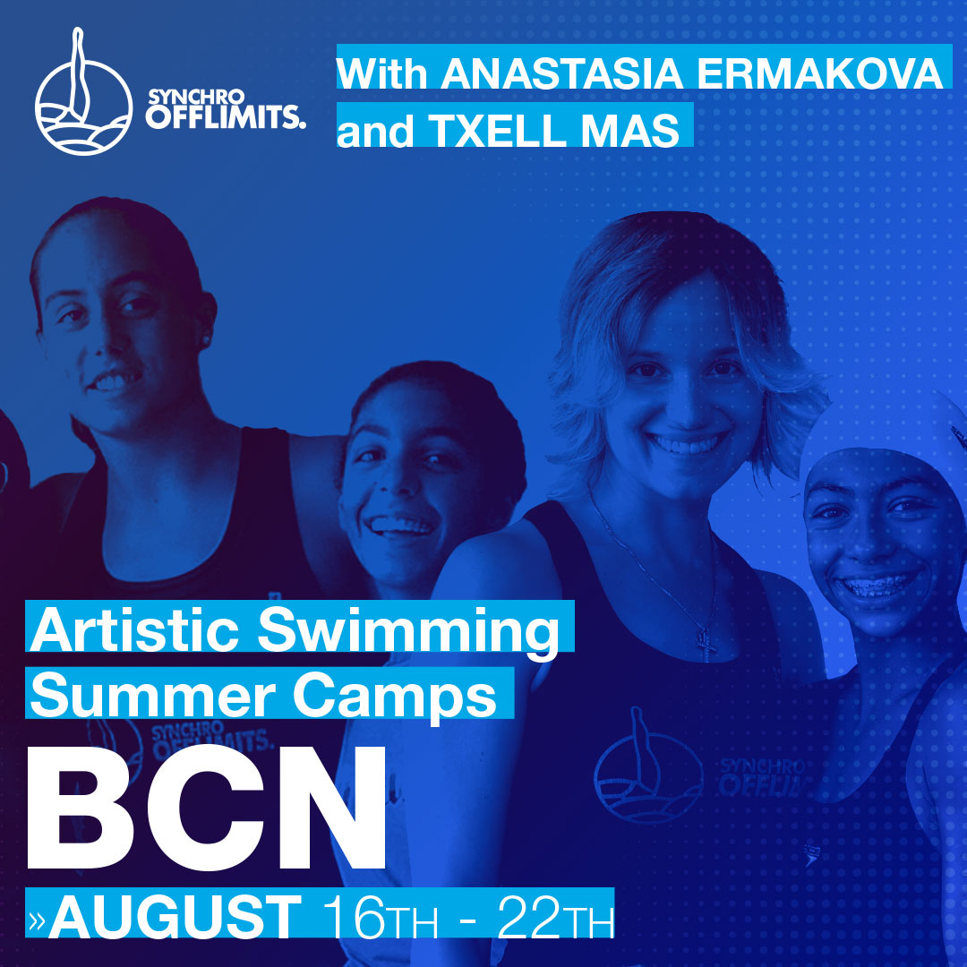Artistic Swimming Summer Camp- FULL BOARD ACCOMMODATION BCN – 1 Week