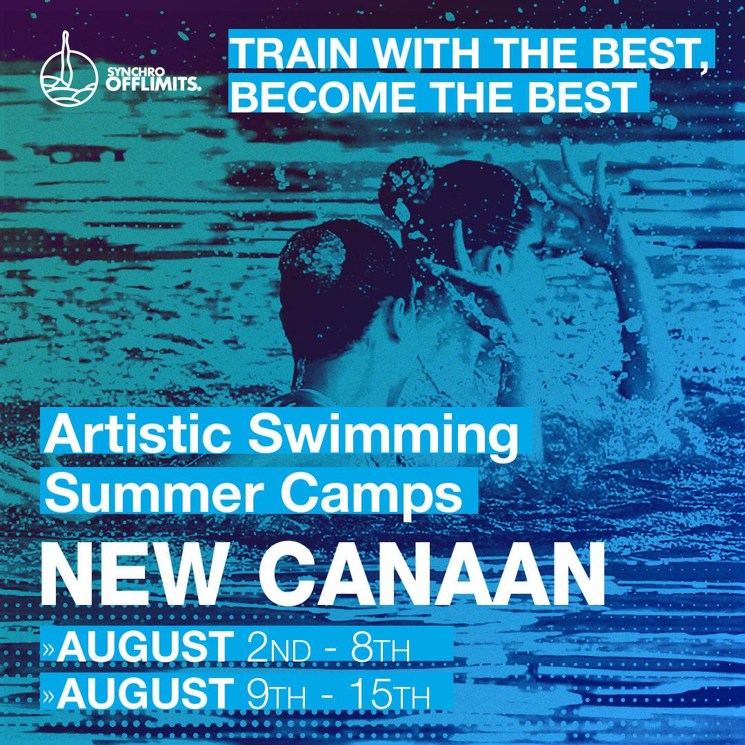 campus de natacion artistica New Canaan 2020