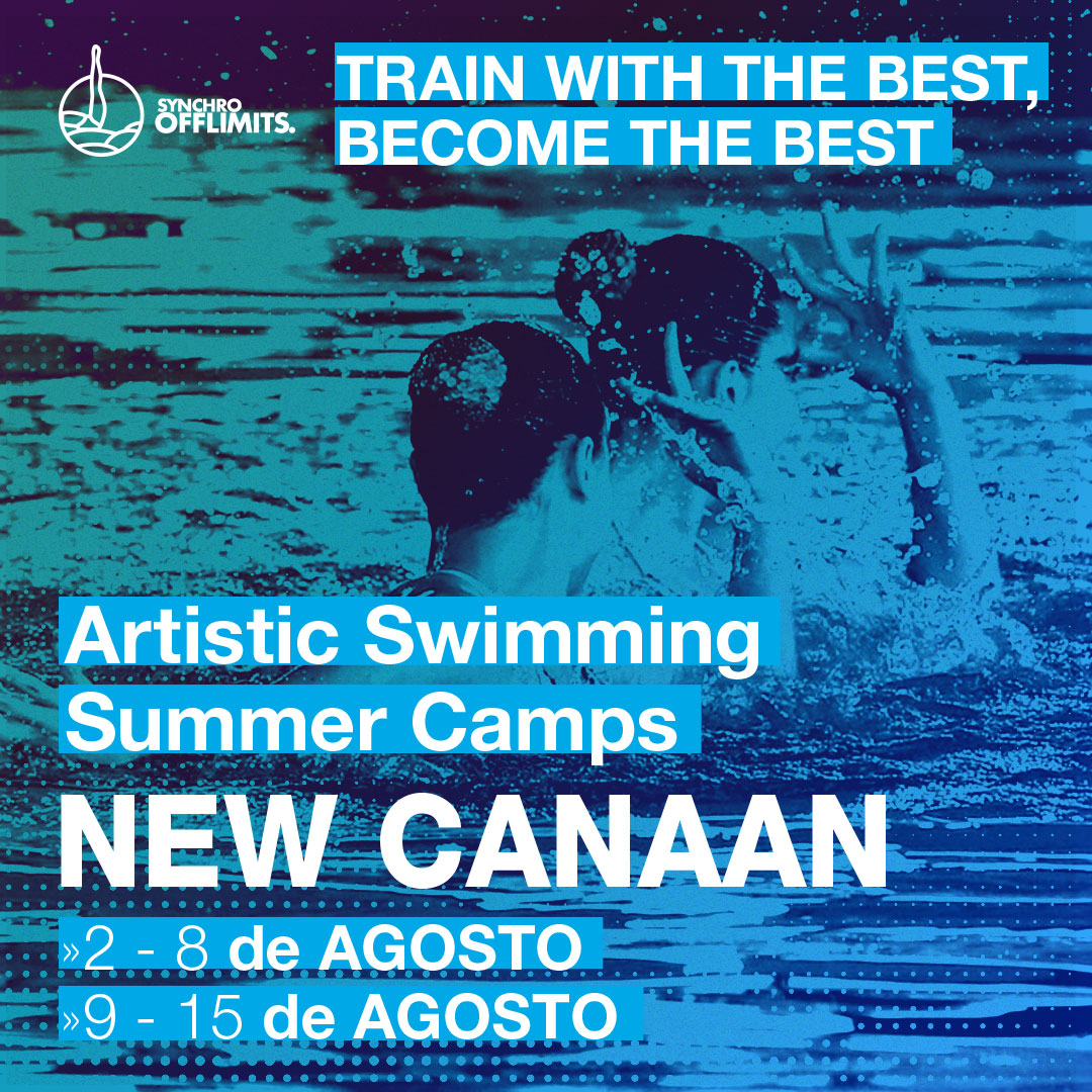 Campus natacion sincronizada - Campus Sincro -campus en usa - new canaan 2020 verano - offlimitscamps