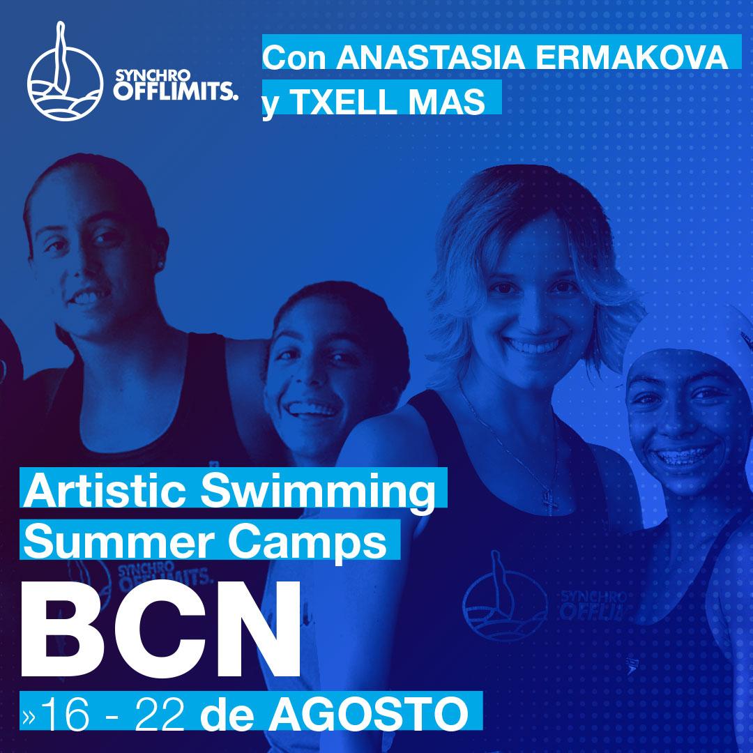 Campus natacion sincronizada - Campus Sincro campus en usa - nueva york 2020 verano - offlimitscamps