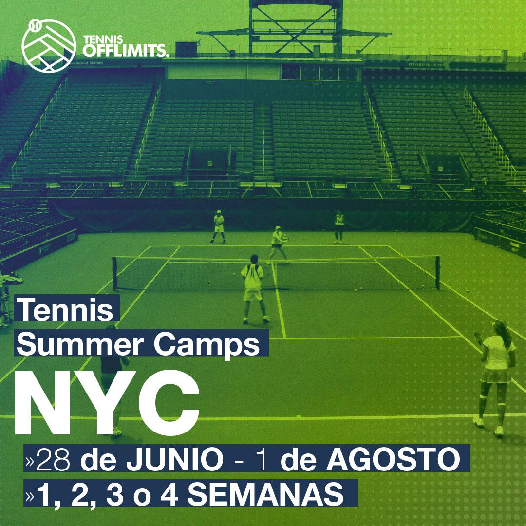 Campus tennis - new york 2020 verano - campus en usa - offlimitscamps