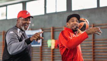 Audie Norris & David King - NBA Camp Barcelona