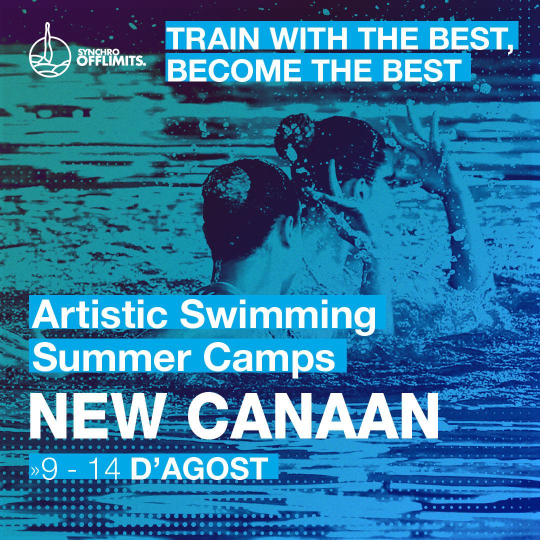 Campus Natació sincronitzada USA new Canaan 2020