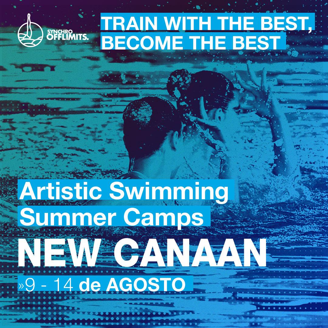 campus de natacion artistica en new canaan 2020 USA