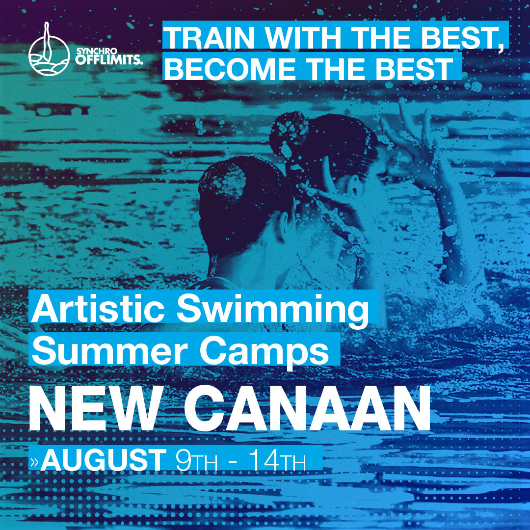 Artistic swimming camp in new canaan 2020