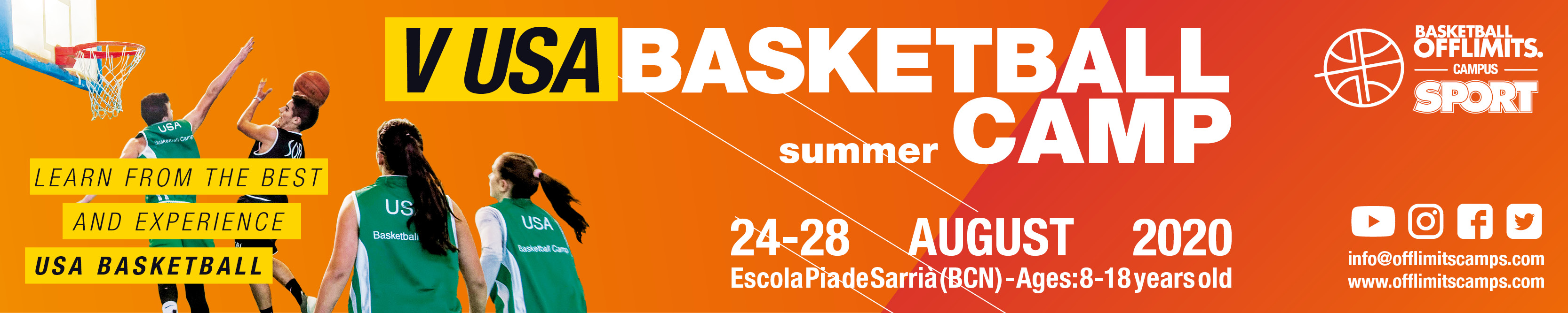 basketball camp in barcelona summer 2020 - offlimitscamps