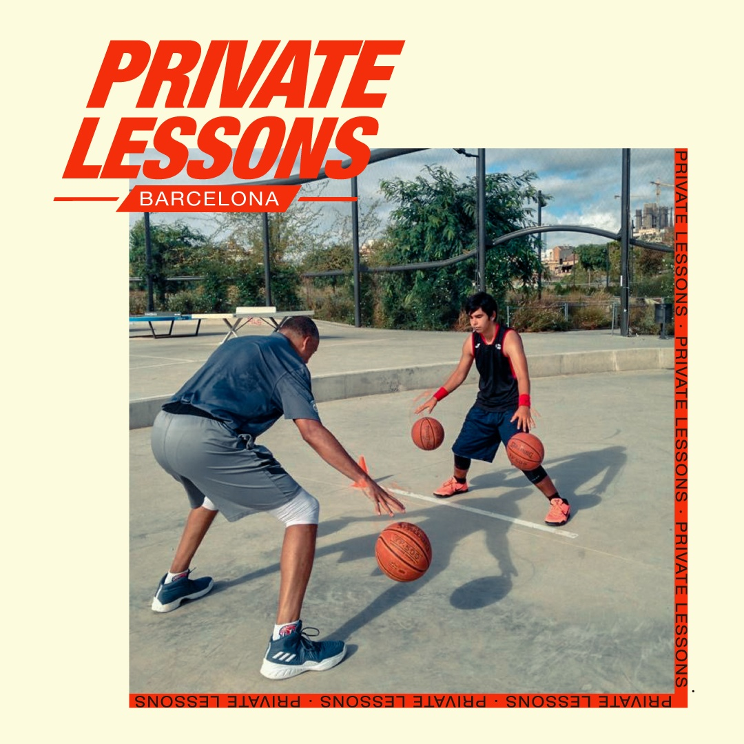 Basket Private Lessons in Barcelona