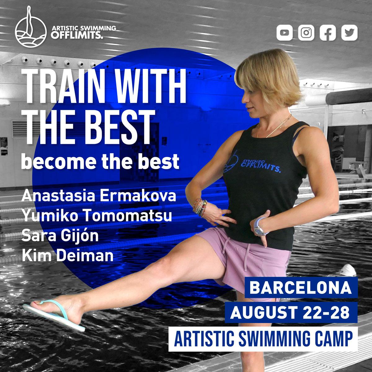 Artistic Swimming Summer Camp BCN 2021 – Fullboard